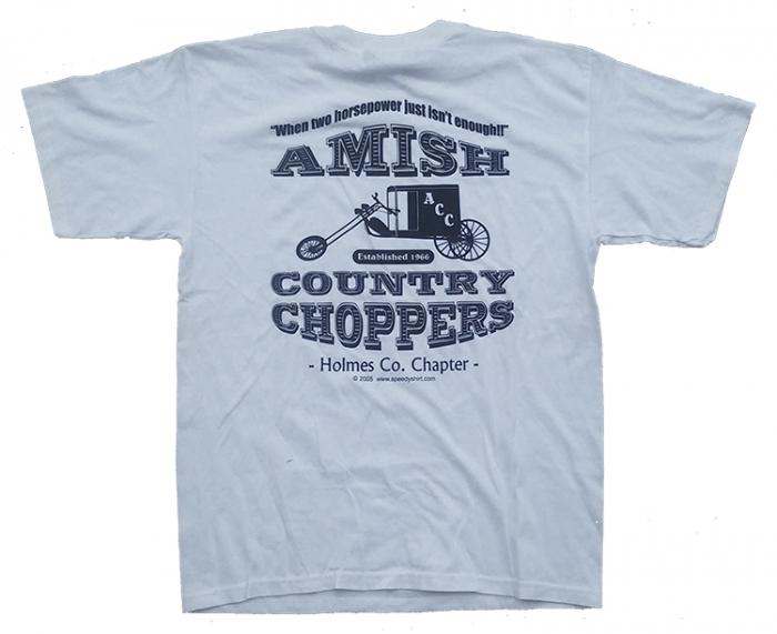 f3138833 Amish Country Chopper T-Shirt - White - The Original (2005)